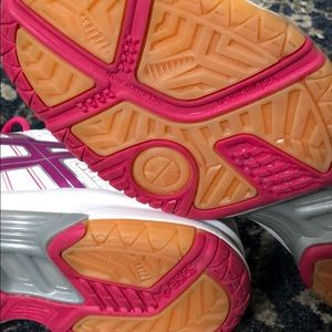 Asics Shoes - Pink ASICS volleyball shoes